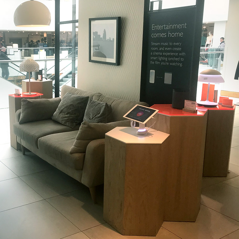Research - in-store space